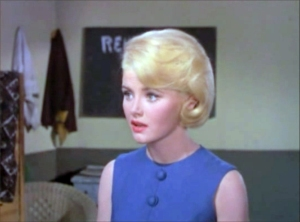 Noreen Corcoran as a blonde.