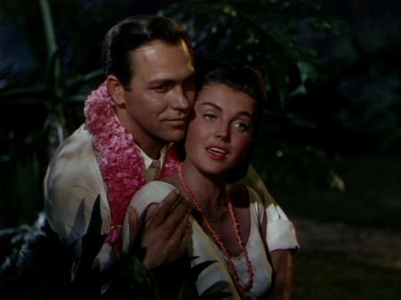 Howard Keel and Esther Williams in Pagan Love Song
