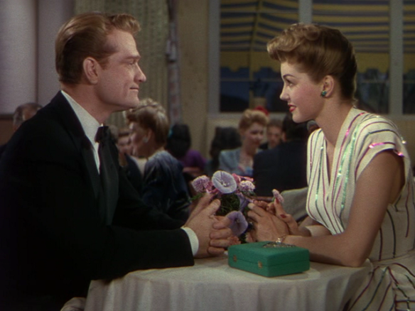 Red Skelton and Esther Williams in