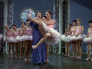Red Skelton's comedic ballet