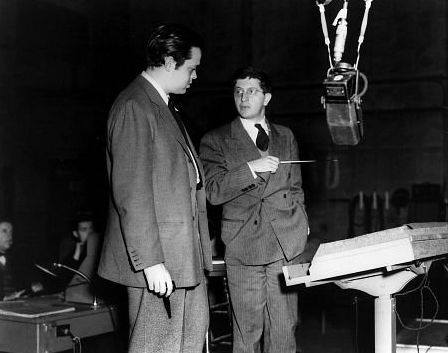 Orson Welles and Bernard Herrmann