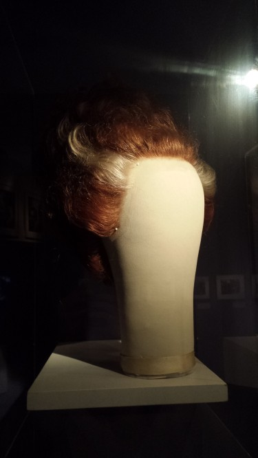 Wig worn by Elsa Lanchester in Bride of Frankenstein (1935). (Comet Over Hollywood/Jessica P.)