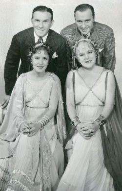 George Burns, Jack Benny, Gracie Allen, Mary Boland