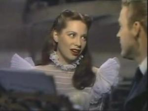 "Dinah Shore in ""Belle of the Yukon"""