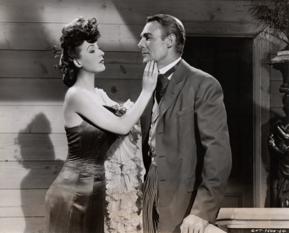 "Gypsy Rose Lee and Randolph Scott in ""Belle of the Yukon"""