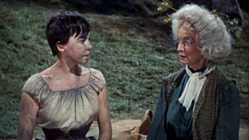 Leslie Caron and Lurene Tuttle in