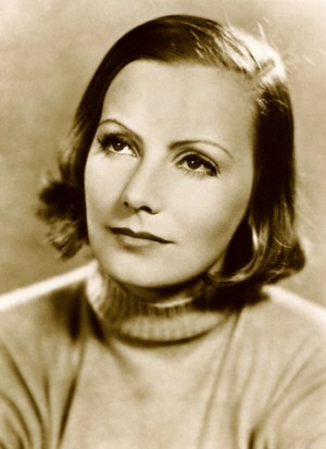 Head Shot of Greta Garbo