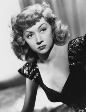Actress Gloria Grahame