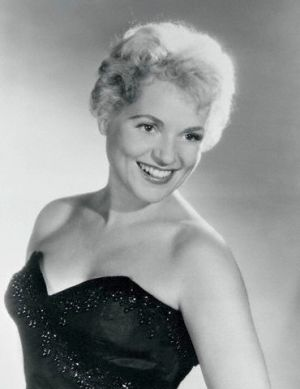 Actress Judy Holliday