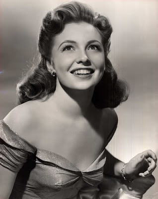 Actress Joan Leslie in the 1940s