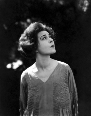 1950's --- Russian American actress, screenwriter and producer Alla Nazimova. --- Image by © Sunset Boulevard/Corbis