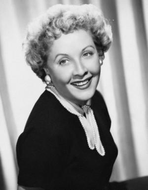 Actress Vivian Vance