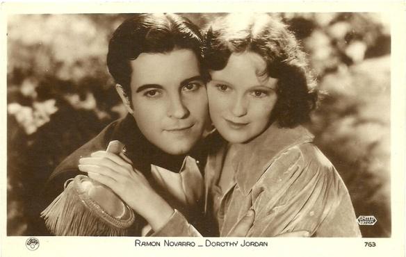 Ramon Novarro and Dorothy Jordan
