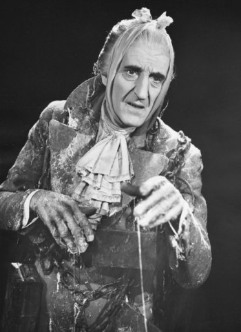 Basil Rathbone as Jacob Marley