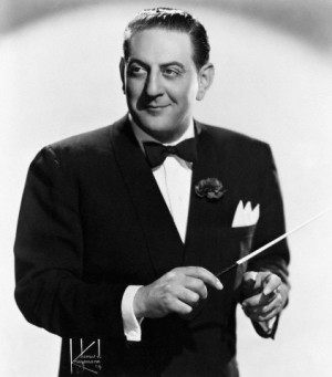 Publicity photo of Guy Lombardo in the 1940s.