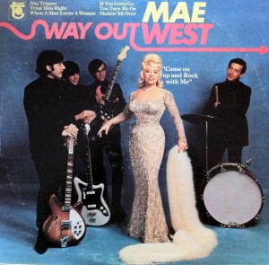 "Cover of West's first rock and roll album, ""Way Out West."""