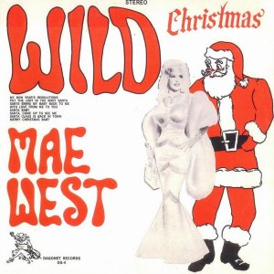 "Cover of West's second rock and roll album, ""Wild Christmas"""