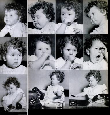 Is Carol Ann Charlie Chaplin's father? (LIFE/Dmitri Kessel)