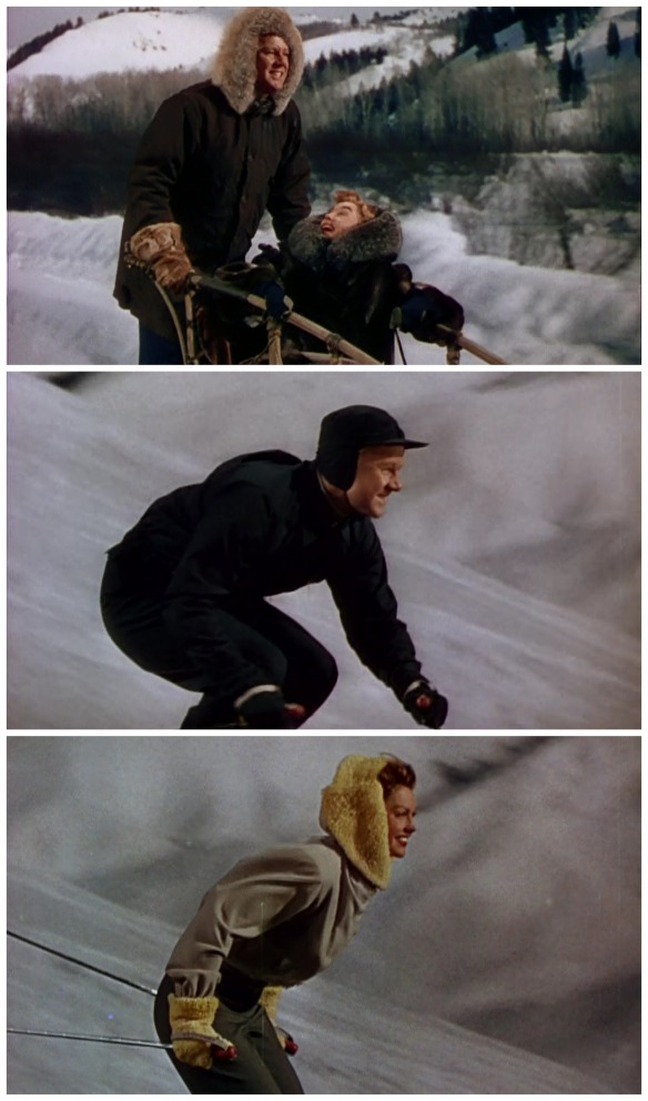 Van Johnson and Esther Williams fall in love while participating in winter sports.