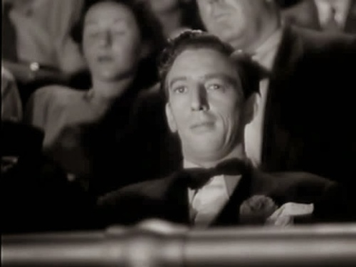 Ray Bolger listening to a symphony and stealing the tunes to adapt as swing music.