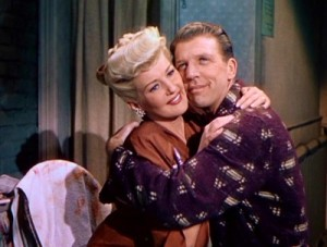 Betty Grable and Dan Dailey in one of their first films.