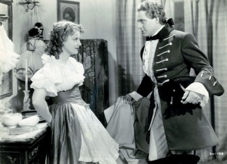 "Jeannette MacDonald and Nelson Eddy in their first on-screen pairing, ""Naughty Marietta."""