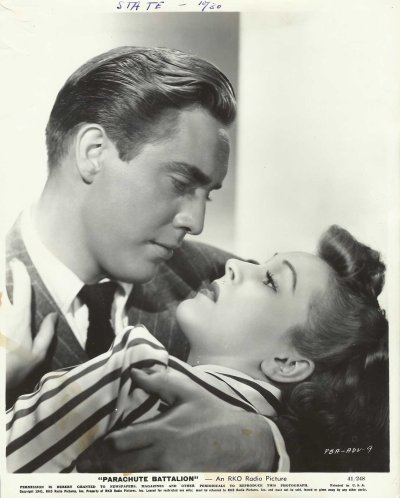 Edmond O'Brien and Nancy Kelly in a publicity still.