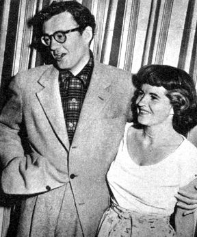 Robert Walker and Barbara Ford