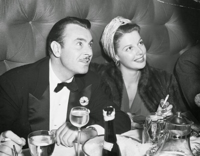 George Brent and Ann Sheridan