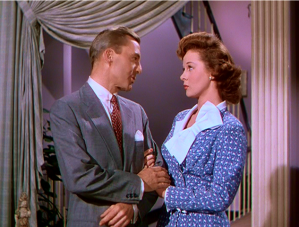 David Wayne with Susan Hayward in
