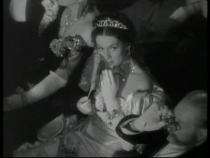 Rosalind Russell in a small role as the countess.