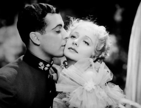 "Ramon Novarro and Evelyn Laye in ""The Night is Young"" (1935)"