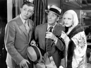 "Stewart Erwin, Ned Sparks and Marion Davies in ""Going Hollywood"""