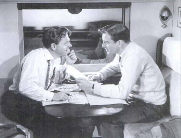 Mickey Rooney as Lorenz Hart and Tom Drake as Richard Rodgers