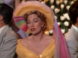 "Ann Sothern gorgeous in Technicolor in the number ""Where's My Rainbow"" (1"