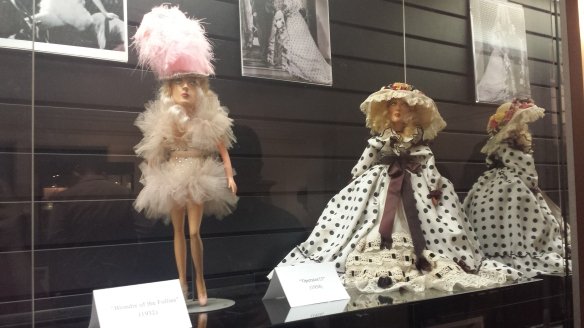 Marion Davies' doll collection at the Hollywood Heritage Museum.