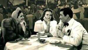 "Francis, Durbin and Pidgeon in ""It's a Date"""