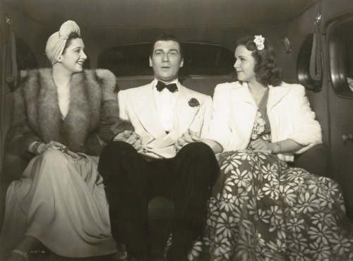 "Kay Francis, Walter Pidgeon and Deanna Durbin in ""It's a Date"""