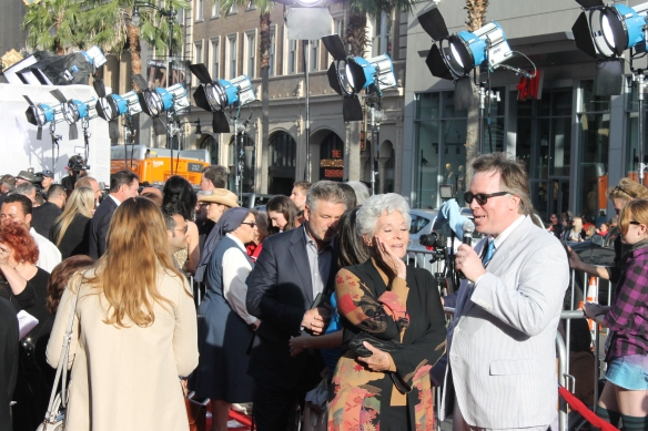 Lee Meriwether on the red carpet.