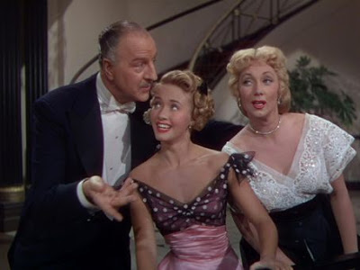 "Louis Calhern, Jane Powell and Ann Sothern in ""Nancy Goes to Rio"""