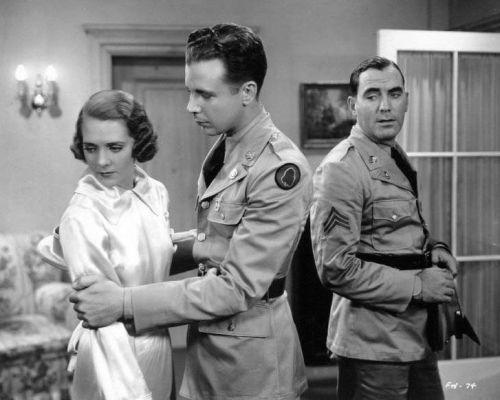 Ruby Keeler, Dick Powell and Pat O'Brien