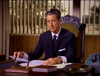 Don Ameche as Moondoggie's boss