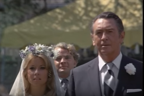 "Macdonald Carey as Gidget's dad in ""Gidget Gets Married."""