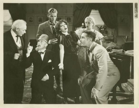 Al Shean, Reginald Owen, Douglass Montgomery, Gloria Swanson, June Lang and John Boles
