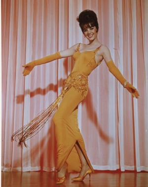 "Natalie Wood wearing an Orry-Kelly costume in ""Gypsy"""