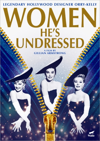 Poster WOMEN HE'S UNDRESSED - Courtesy of Wolfe Video