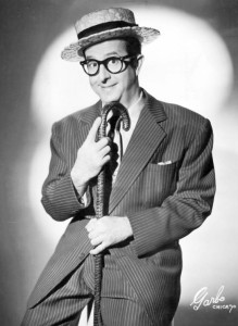 Phil Silvers as his character Jerry Biffle.