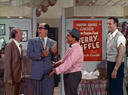 "Phil Silvers in ""Top Banana"" (Photo from Forgotten Films Blog)"