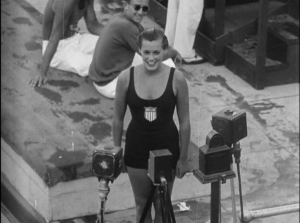 Eleanor Holm at the 1932 Olympics