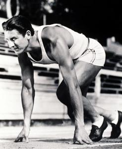 Glenn Morris at the 1936 Olympics